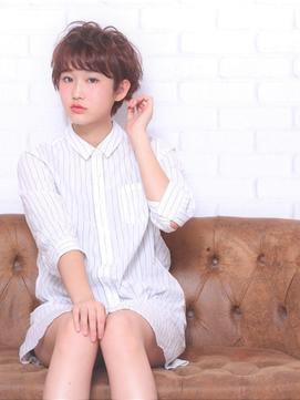 ★hair LOGiA★ 〇ショートパーマくしゃくしゃスタイル