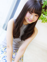 【ヘアジュレドゥ 古居】 カワイイ黒髪 Sweet ロング 清純.59
