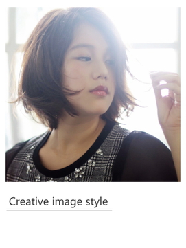【Creative image styel】アンニュイ外ハネボブ