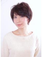 清楚で優しい印象に☆エアリーショートボブ【PAZ 渡部宏太郎】 卒園式.52