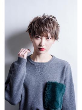 【miel hair渋谷】かっこかわいい!ボーイッシュショート