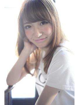 LAUREN☆マーメイドアッシュブラウンストレート tel0112328045