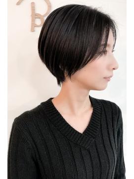 髪が多くても可能なクールショート【ビリード恵比寿】関田