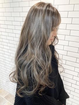 ASHLEY☆NOBU 秋冬カラー 白髪染め ハイライト 福島 野田 美容室