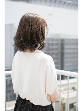 (grandage池袋東口店)ミディアム×ゆるふわデジタルパーマ