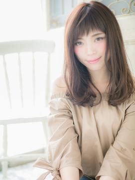 *髪質改善/おおたかの森*ピンクベージュレトロフリンジウェーブa