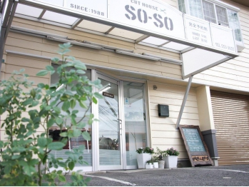 カットハウスソーソー(cut house SO-SO)(大分県大分市/美容室)