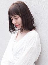 *【暗髪&艶色】大人かわいい アッシュグレーカラー*.0