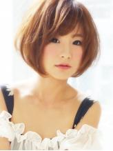 【ヘアジュレドゥ 花井】 大人かわいい愛されショートボブ シャギー.54