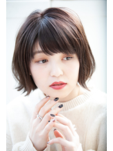 【Rire-リル銀座-】外ハネショートボブ.5