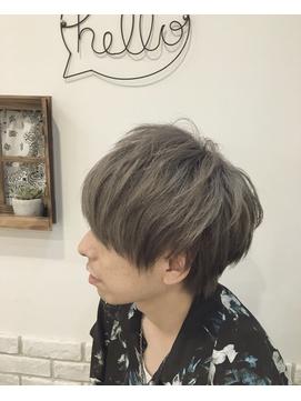 *ash gray ×マッシュ*
