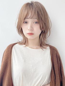 【K-two Esola 池袋】アンニュイパーマ/ハイトーンカラー/カール