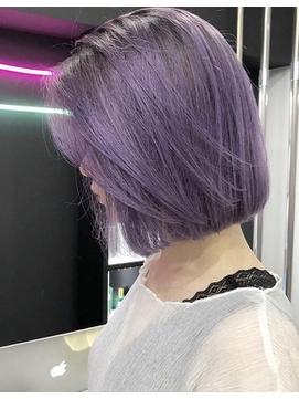 【LOGUE】外国人風blue lavender
