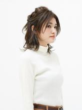 ロープ編みハーフアップ【EARTH八千代が丘】.56