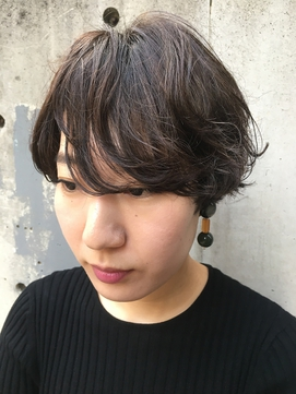 大人ルーズウェーブ×グレージュカラー◯【下北沢】