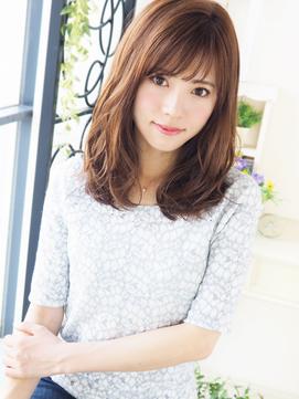 【ジュレベール松田】 Natural クール可愛い☆さらふわセミディ
