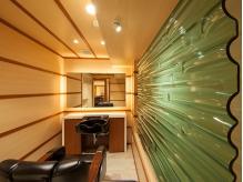 席ごとにデザインの違う個室。好きな雰囲気を探してみては?