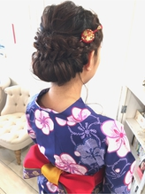 neolive tiala 浴衣ダウンスタイル かんざし.55