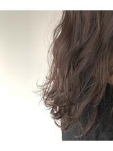 透け感カラー☆グレープブラウン.18