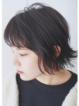 ≪SCENE 谷添担当☆≫外ハネボブ×インナーカラー.18