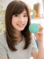 【macaron】サラサラ☆ラグジュアリーワンカール