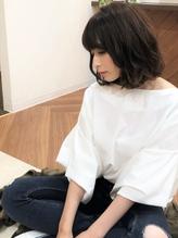 +animo松伏+くせ毛風無造作な大人ボブディ♪c-2.45
