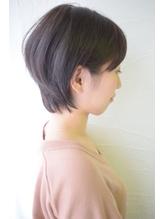 黒髪でもOK!耳かけ前下がりナチュラルショート☆徳田大輔 センター分け.21