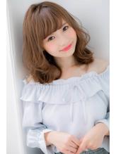 *LOREN*再現性◎♪巻き髪風パーマ大人春ミディアム 巻き髪.60