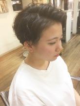 【micca下北沢】☆かきあげ前髪×ツーブロック刈り上げパーマ☆ .9