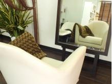 ソファーのような座り心地のいい椅子でゆったり。。。