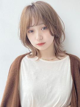 【K-two Esola 池袋】ベージュ系カラー/シアカラー/抜け感ヘア