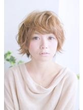 美髪デジタルパーマ/バレイヤージュノーブル/クラシカルロブ/583 Oggi.58