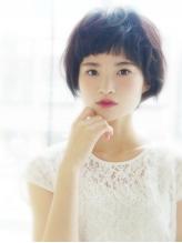 【ヘアジュレ 杉下】 黒髪清純ふわ揺れショート 清純.48