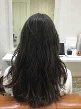ラベンダーアッシュブラウン大人かわいい巻き髪デジタルパーマ.17