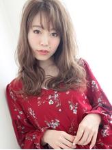 大人っぽフェアリー×透けバング☆あか抜けエレガンスウェーブ♪ フェミニン.32