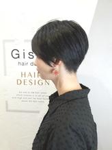 【GiseL】黒髪ジェンダーレスショート.47