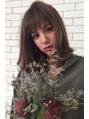 透け前髪/フェアリーモカミディアム【フェアリー】