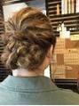 アップスタイル 着物にも似合うまとめ髪
