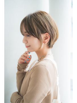 【aRietta馬場】カジュアルな丸みショート