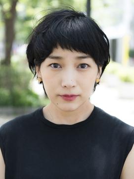 【keep  hair design三橋】黒髪×マッシュショート