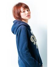 【brote】☆小顔ひし形カジュアルショート☆ センター分け.25