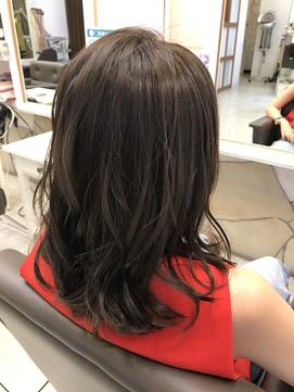 Bfore→After 暗髪チャコールグレイ【nanana parena】