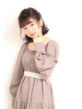 <最新>簡単で可愛い♪ハーフアップ☆.50