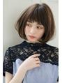 【Rire-リル銀座-】ナチュラルな小顔の大人可愛いショートボブ☆