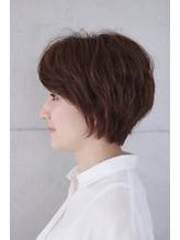 【&- hair/鈴木孝治】大人後頭部ふんわりショートボブ 西葛西.42