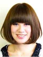 髪に負わせるダメージを最小限に、今のスタイルにマッチした『縮毛矯正』をご提案。予想以上の仕上がりに♪