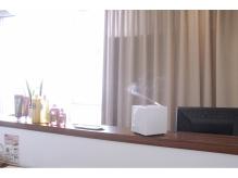 癒しの香りと空間を演出するマイクロフレグランス設置