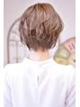 【メイズ 東中野・鍛原志行】ショートの編み込みヘアアレンジ