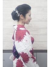 浴衣☆アレンジアップスタイル.29
