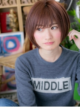 *+COVER HAIR+*…ピュアガーリー☆マッシュボブa 好感度.31